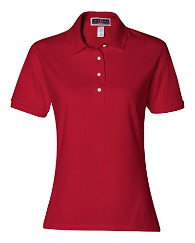 Avec 6 Red Spotshield Polo Jerzees nbsp;g 50 50 Ladies 5 nbsp;jersey True Zwq7xf8E