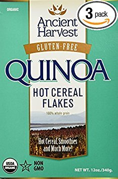 Ancient Harvest Quinoa Flakes Organic Gluten Free 12 Oz (Pack of 3) by QUINOA
