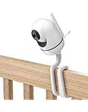 Koroao Baby Monitor Mount for HelloBaby HB65/HB66/HB248 and ANMEATE SM935E Baby Monitor Camera, Versatile Twist Mount Without Tools or Wall Damage