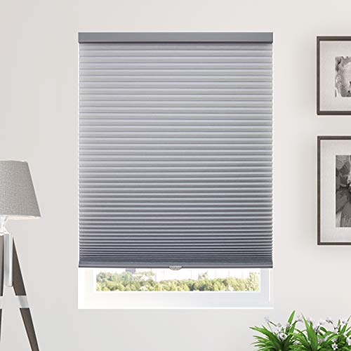 CHICOLOGY Cordless Cellular Shades Privacy Single Cell Window Blind, 72