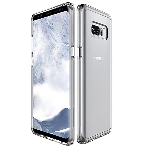 - Samsung Galaxy Note 8 Case, VPR Extreme Thin [Scratch Resistant] Crystal Ultra Clear Slim Fit Flexible TPU Gel Rubber Soft Silicone Protective Case for Galaxy Note 8 2017 Release (Clear)