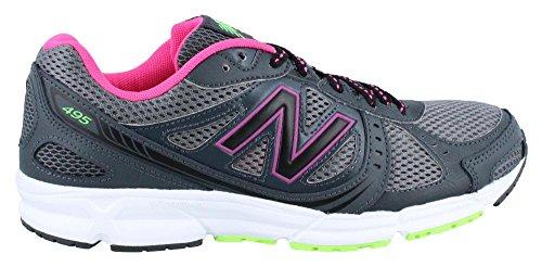 New Balance Women's WE495 Running Shoe, Lead, 8 D US