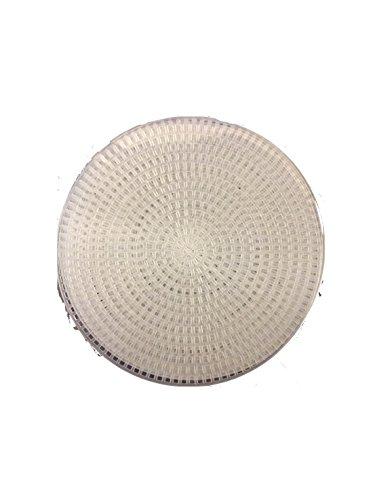 (Darice Bulk Buy DIY Plastic Canvas Shape Circle 4-1/4 inches 8 Pieces (6-Pack) 337815)
