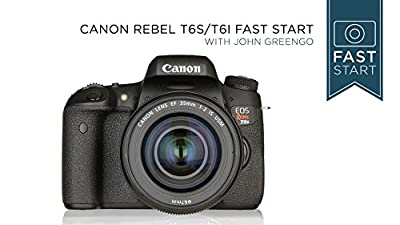 Canon Rebel T6s/T6i Fast Start