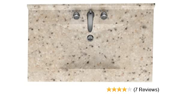 Swanstone Cv02237 040 Contour Solid Surface Single Bowl Vanity Top