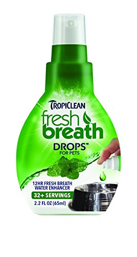 Tropiclean Fresh Breath drops Made in USA Size:Pack of (Fresh Breath Drops)
