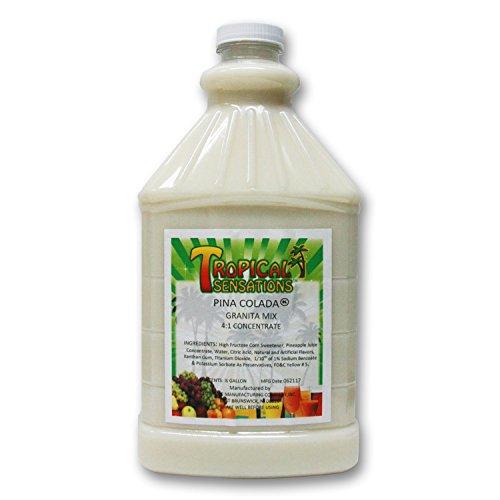 (Pina Colada Frozen Drink Mix, Tropical Sensations, 1 bottle (64 oz.))