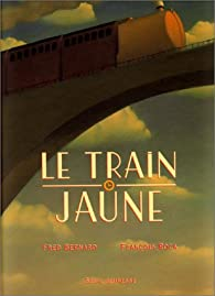 Le Train jaune par Fred Bernard