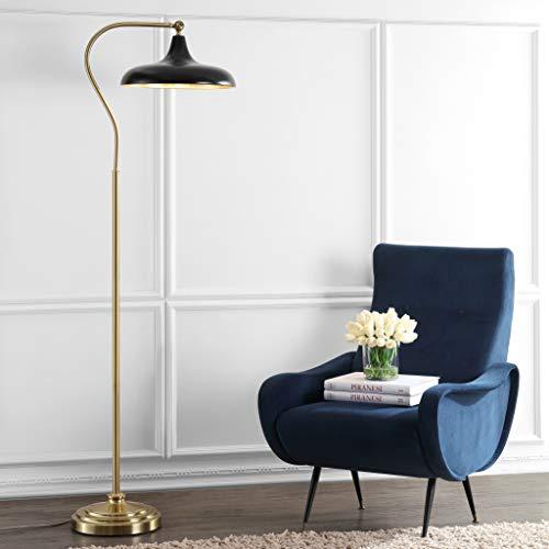 Safavieh FLL4046A Lighting Collection Stefan Black 68-inch Floor Lamp H