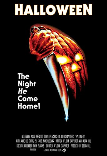 Movie Poster Halloween 1978 27in x 40in (Movie Theatre Size) Horror Film by Movie Poster