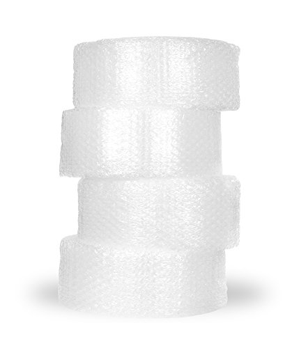 Bubble Wrap (1/2-Inch Bubble, 48-Inch by 125-Foot, Perforated Every 12-Inches, 4 Rolls at 12-Inch, by Bubble Wrap