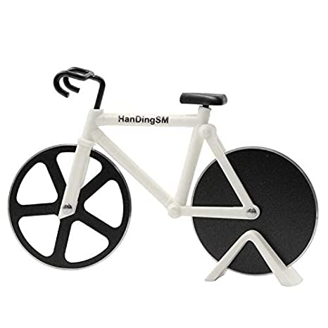 Amazon.com: Bicicleta cortador de Pizza, langxian Pizza ...