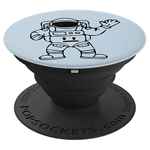 Space Guy Waving - PopSockets Grip and Stand for Phones and Tablets]()