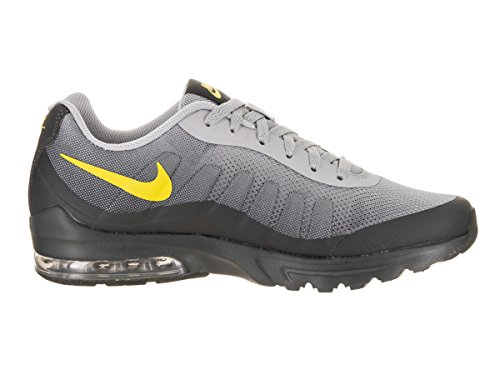 Nike Men's Air Max Invigor Print Running Shoe, Wolf Grey/Bright Cactus/Anthracite, 9 D US