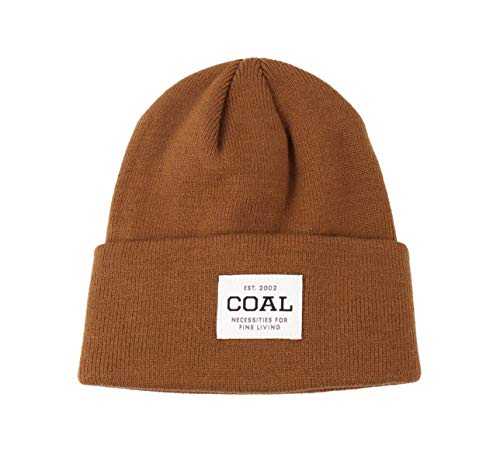 e4ab193dc07a5 Amazon.com  Coal Men s The Uniform Fine Knit Workwear Cuffed Beanie Hat   Clothing