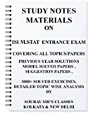 ISI M.STAT 2018 STUDY MATERIALS [ PACK OF 5 BOOKS ] ENTRANCE EXAM WITH 20 SOLVED MODEL PAPERS + PREVIOUS YEAR SOLUTION NOTES BOOKSM STAT