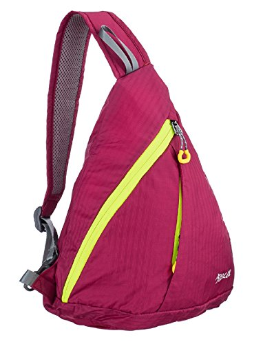 ICOLOR 10L Sling Chest CrossBody Bag Shoulder Backpack Cover Pack Rucksack for Cycling Bicycle Sport Hiking Travel Camping Bookbag Men Women - Shipping Free Sunglasses Use