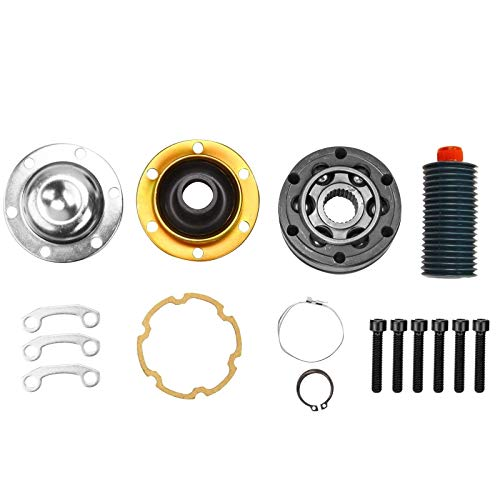 yjracing Front Drive Shaft Complete Replacement CV Joint Kit Fit for 1999-2007 Jeep 4x4