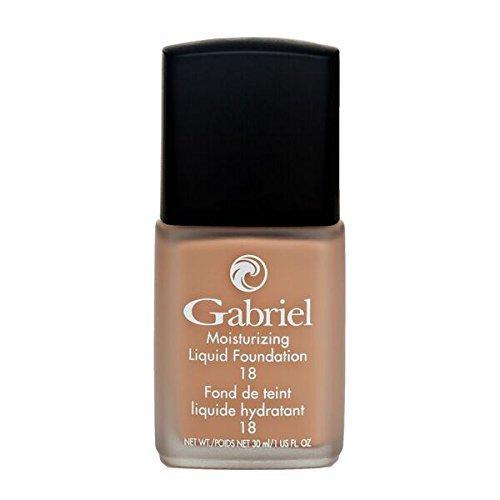 Foundation Natural Moisturizing The (Gabriel Cosmetics Moisturizing Liquid Foundation (True Beige))