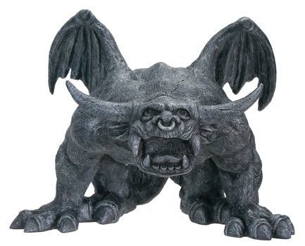 - YTC Bull Horned Gargoyle - Collectible Figurine Statue Sculpture Figure