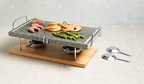 Kitchen Craft Master Class Artesa Pietre m & aacute; griglia Marmo, Multicolore, 15 x 22 x 41,5 cm 6