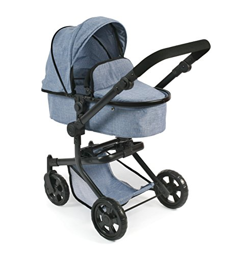 Bayer Chic 2000 595 Doll Stroller, Blue