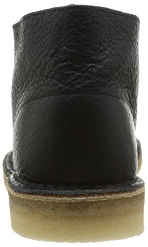 Clarks Desert Boot - Zapatos con cordones para hombre Negro (Black Tumbled)