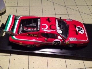 1980 Ferrari - BRUMM 1/43 FERRARI 512 BB LM - Le Mans 1980, Scuderia Bellancauto