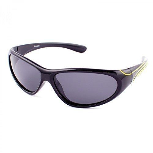 Polarisierend Kinder Sonnenbrille Polbrille Polarizird Fram Aviator New Wayfahrer , Rahmenfarbe:Gelb