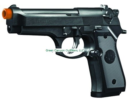 Beretta 92 FS Spring Pistol (Black, Medium)