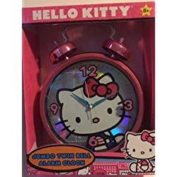 Hello Kitty Jumbo Alarm Clock - Pink