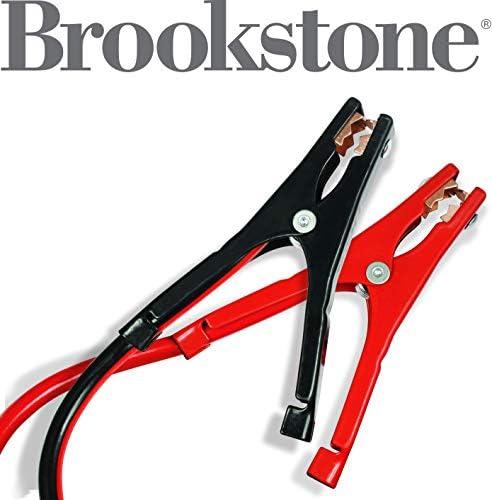Brookstone 6 Gauge Jumper Cables 16 ft Model Number: BK1266