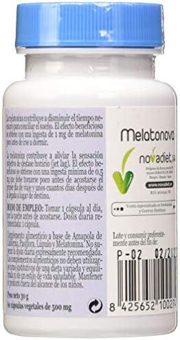 MELATONOVA (MELATONINA 1,9 mg) 60 Caps: Amazon.es: Salud y cuidado personal