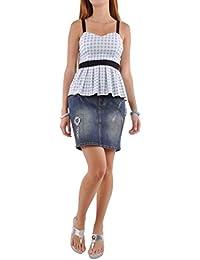 Weekend Cutie Jean Skirt
