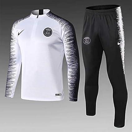 outlet online detailed look amazing price Ensemble Survêtement PSG Jordan Blanc/Noir VAPORKNIT Strike ...