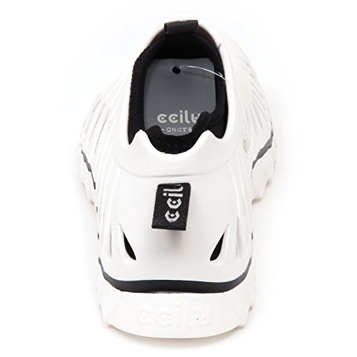 Shoe E8254 Bianco without On Sneaker Slip tissue Box Uomo Rubber Ccilu Man zarwz4