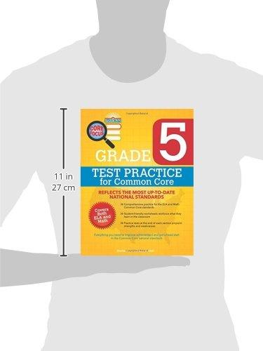 Barron's Core Focus: Grade 5 Test Practice for Common Core: Lisa M ...