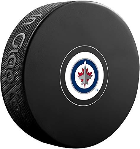 Winnipeg Jets Unsigned InGlasCo Autograph Model Hockey Puck - Fanatics Authentic Certified - Unsigned Pucks - Signed Winnipeg Jets