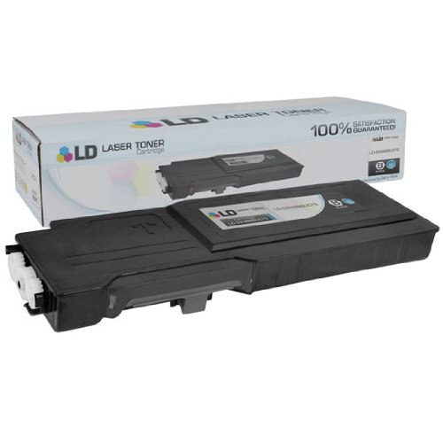 LD © Dell Compatible RD80W (67H2T) Black Extra High Yield Toner Cartridge Includes: 1 593-BBBU Black for use in Dell Color Laser C2660dn, and C2665dnf Printers Extra High Yield Color Laser