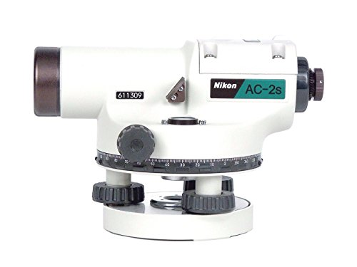 Nikon Ac-2S Automatic Auto Level 24x Optical Transit Survey Magnetc Dampened Autolevel
