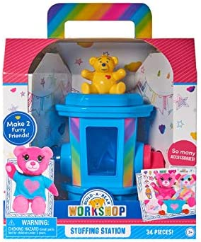 Build-A-Bear Workshop Stuffing Station by Spin Master-Makes 2 bears