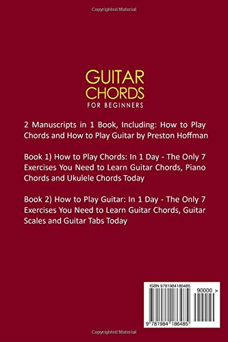 Guitar Chords For Beginners Bundle The Only 2 Books You Need To