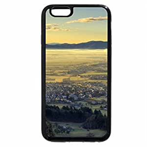 iPhone 6S Plus Case, iPhone 6 Plus Case, beautiful towns in a misty valley