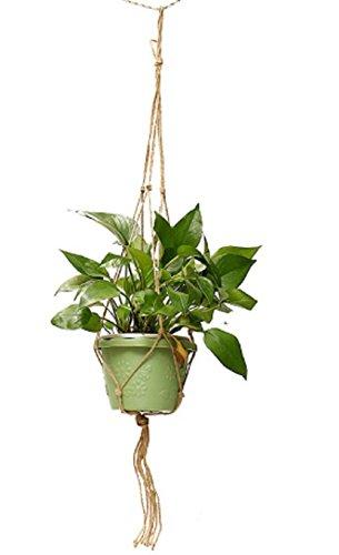 Saleble Mart Hand-Woven Rope Macrame Plant Potting Hanger...
