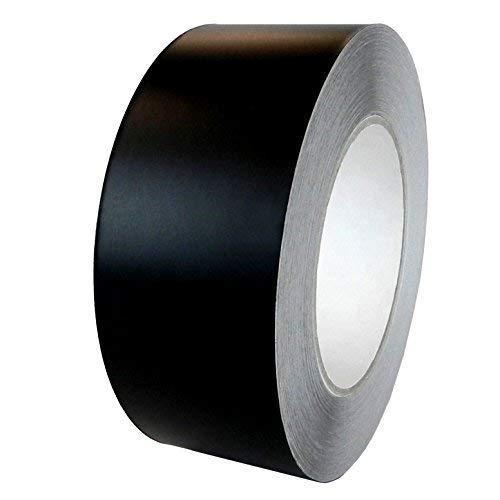 T.R.U. Lámina de aluminio negro mate cinta no reflectante con calcomanía acrílico. Disponible en varios tamaños, 2' X 27...