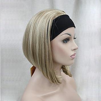 Nouvelle Mode 3/4 Perruque avec bandeau Femme