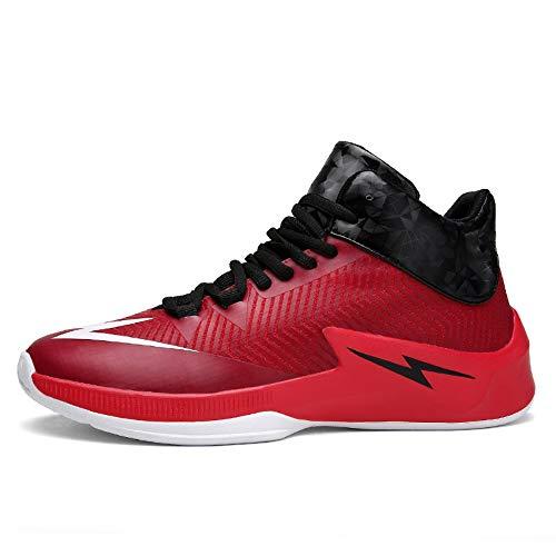 Maylen Absorbant D'automne La Pour Et red Chaussures Tout Hughes 42 Portables Les De Mode Baskets Antidérapantes Basketball aller Hommes Chocs 8wr81