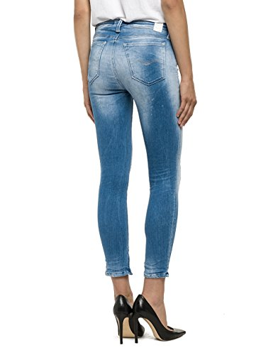 Blau Skinny Femme Replay Cherilyn 10 Blue Jeans Denim Bleu wPq1EXTx