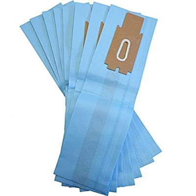 Oreck XL Blue Type CC Upright Vacuum Cleaner Bag Generic By DVC (Pack of 8)