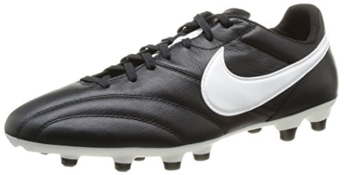 Nike Mens The Premier Soccer Cleat Black/Orange Blaze/Summit White Size 6.5